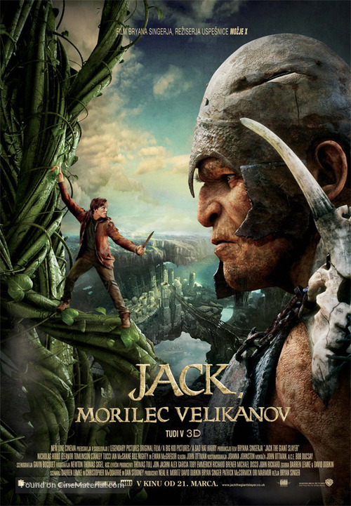 Jack the Giant Slayer - Slovenian Movie Poster