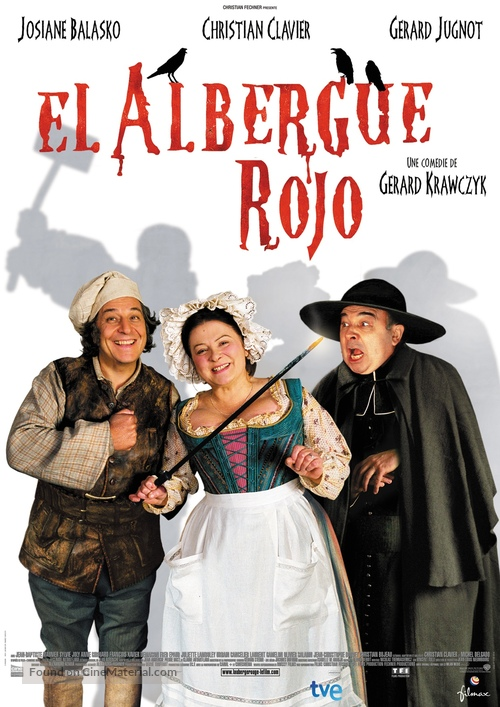 Auberge rouge, L' - Spanish Movie Poster