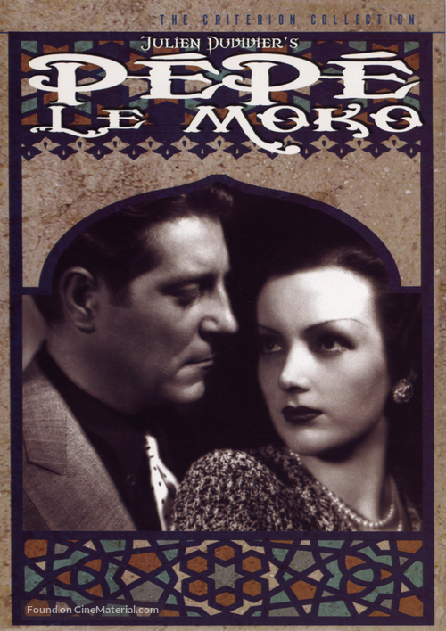 Pépé le Moko - DVD movie cover