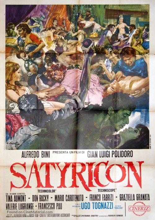 Satyricon - Italian Movie Poster