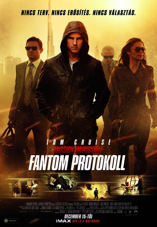 Mission: Impossible - Ghost Protocol - Hungarian Movie Poster