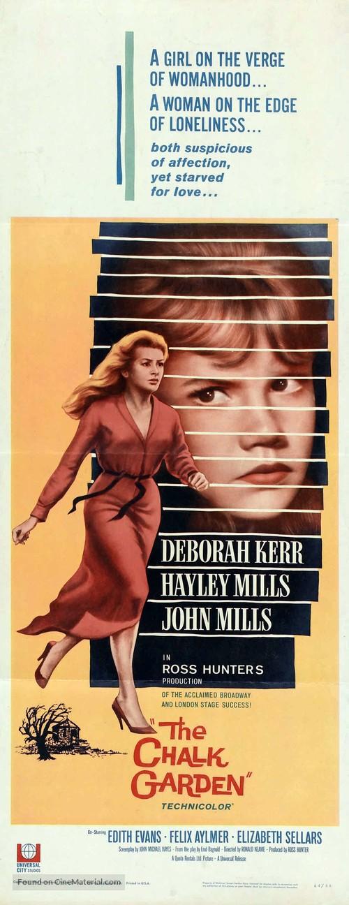 The Chalk Garden - Movie Poster