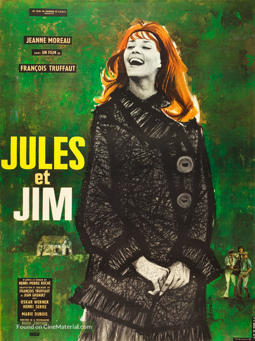 Jules Et Jim - French Movie Poster