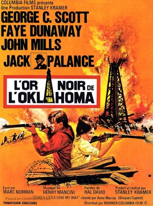 Oklahoma Crude - French Movie Poster