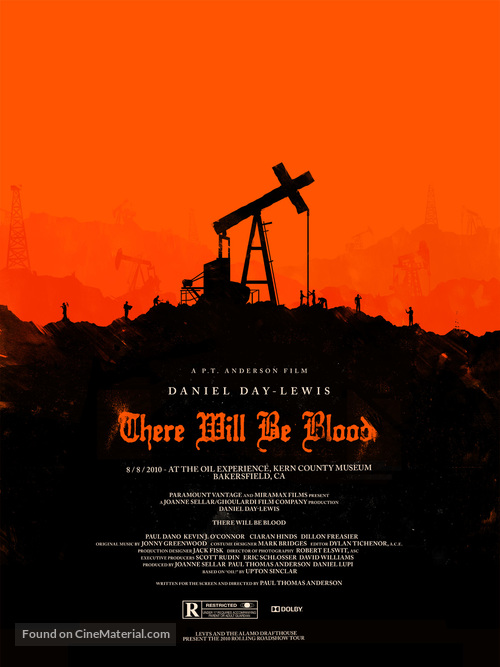 There Will Be Blood - Homage movie poster
