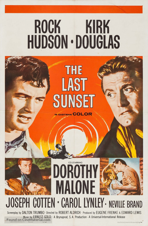 The Last Sunset - Movie Poster