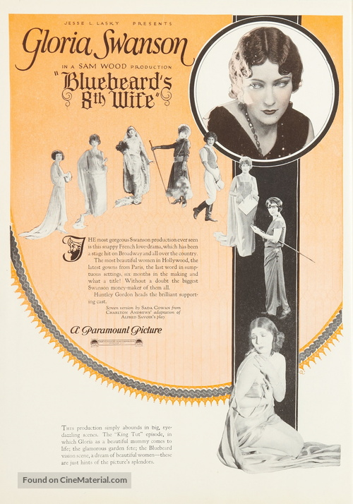 Bluebeard's Eighth Wife - poster