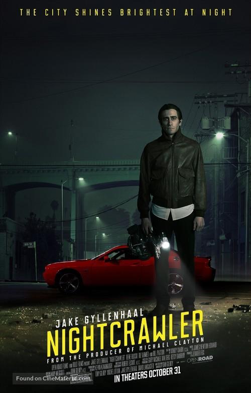 Nightcrawler - Theatrical movie poster