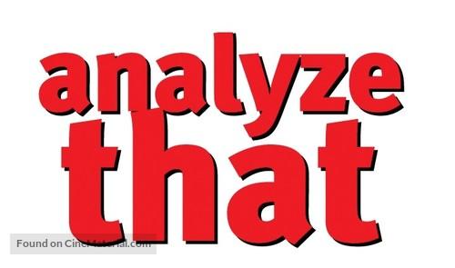 Analyze That - Logo