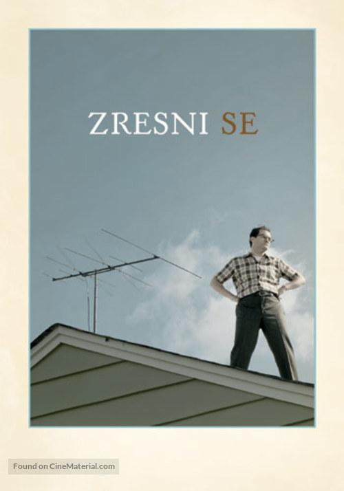 A Serious Man - Slovenian Movie Poster