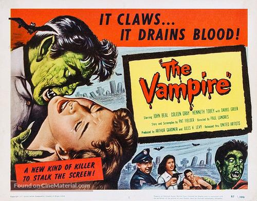 The Vampire - Movie Poster
