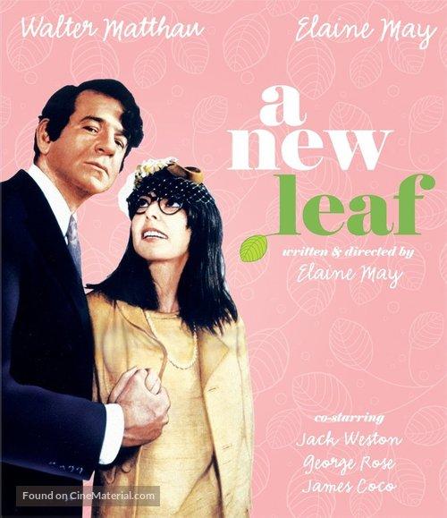 A New Leaf - Blu-Ray movie cover
