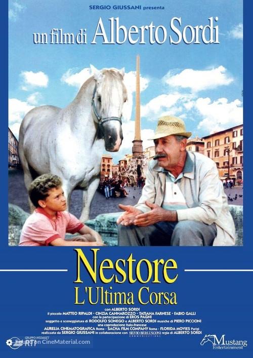 Nestore l'ultima corsa - Italian Movie Poster