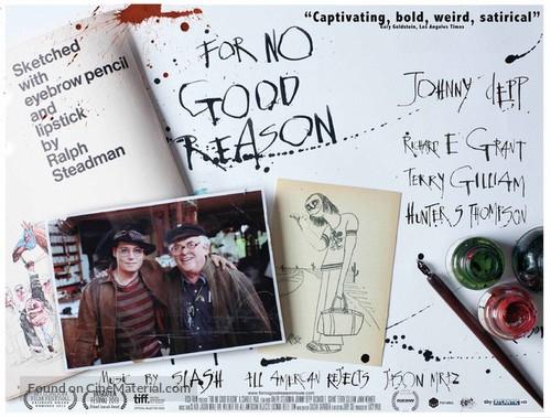 For No Good Reason - British Movie Poster
