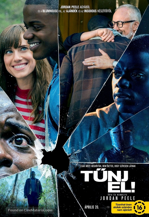 Get Out - Hungarian Movie Poster
