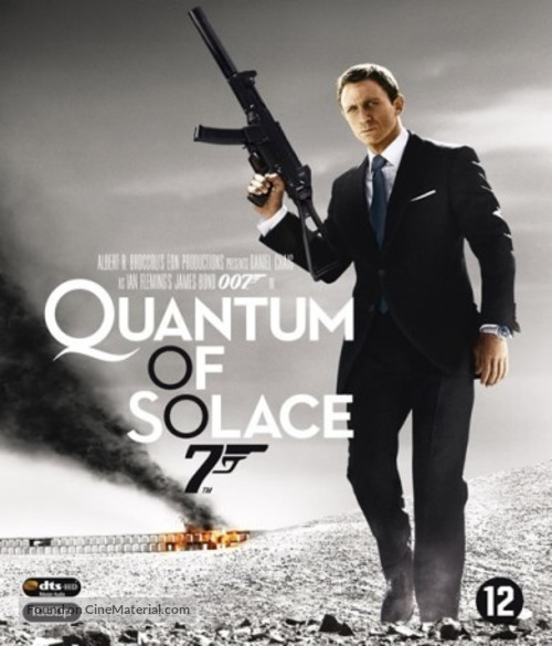 Quantum of Solace - Dutch Movie Cover