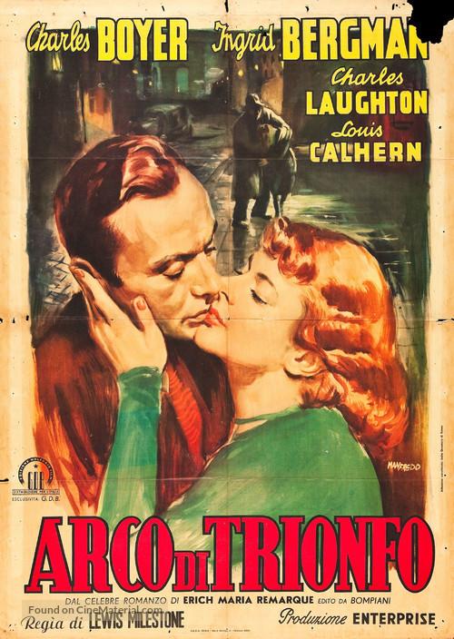 Arch of Triumph - Italian Movie Poster