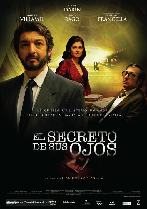 El secreto de sus ojos - Argentinian Movie Poster