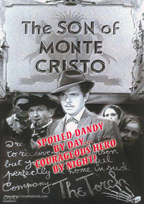 The Son of Monte Cristo - DVD movie cover