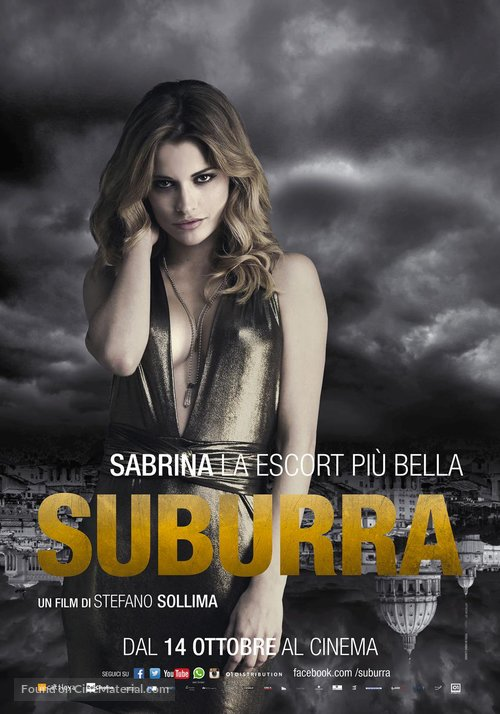 Suburra - Italian Movie Poster