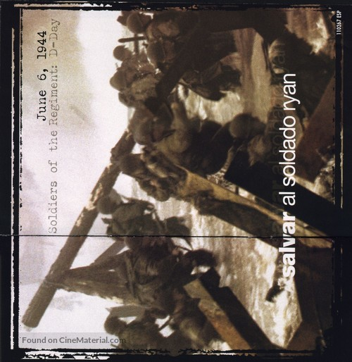 Saving Private Ryan - Spanish poster