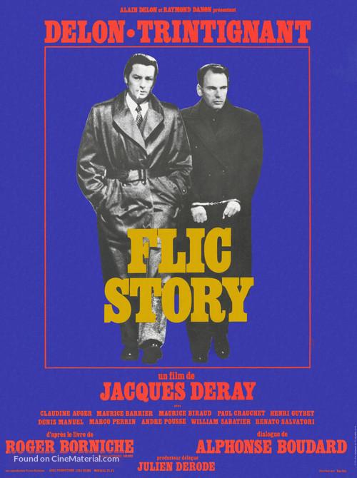 Flic Story - French Movie Poster