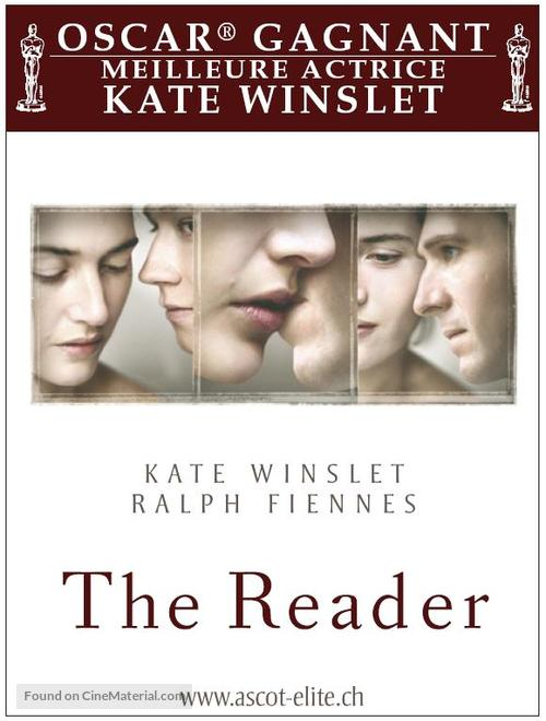 The Reader - Swiss Movie Poster