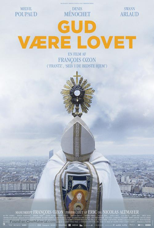 Grâce à Dieu - Danish Movie Poster