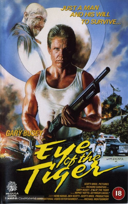 Eye of the Tiger - British Movie Cover