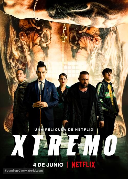 Xtremo - Spanish Movie Poster