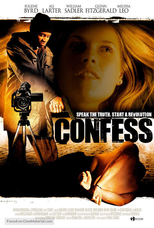 Confess - Movie Poster