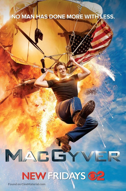 """""""MacGyver"""" - Movie Poster"""