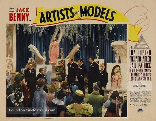 Artists & Models - poster