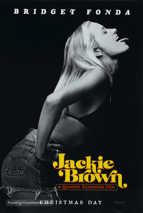 Jackie Brown - Teaser movie poster
