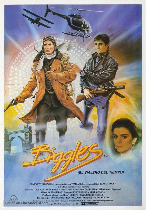 Biggles - Spanish Movie Poster