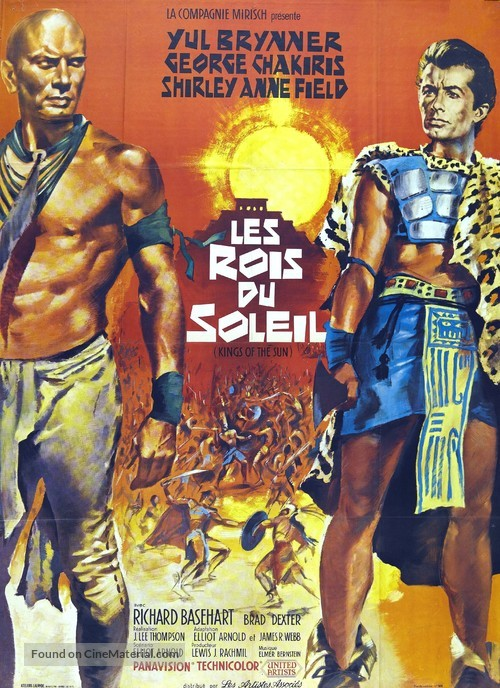 Kings of the Sun - French Movie Poster