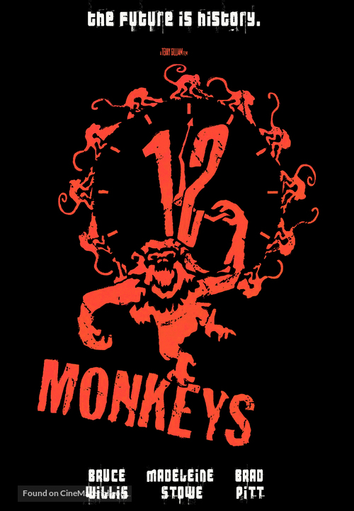 Twelve Monkeys - Movie Cover