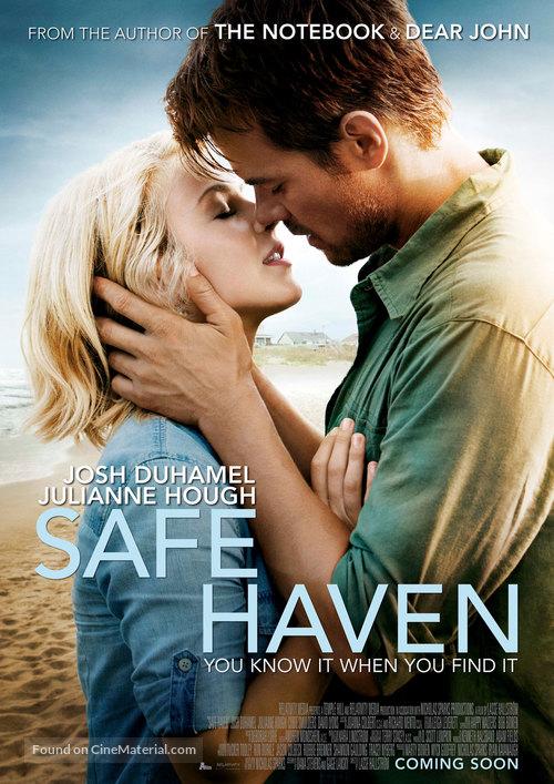 Safe Haven - Dutch Movie Poster