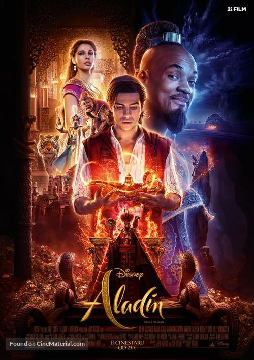 Aladdin - Croatian Movie Poster