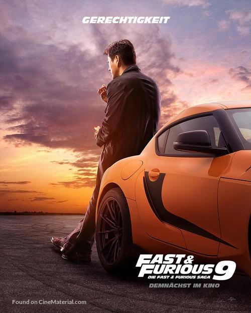 F9 - German Movie Poster
