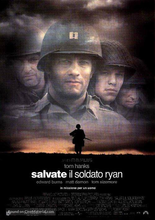 Saving Private Ryan - Italian Movie Poster