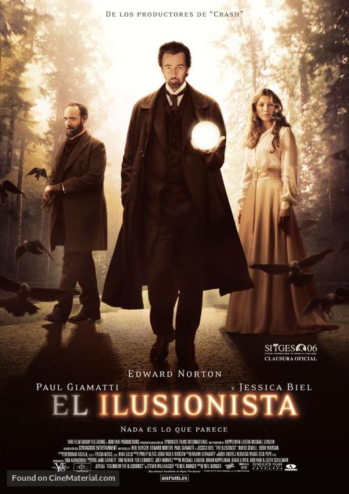 The Illusionist - Spanish Movie Poster