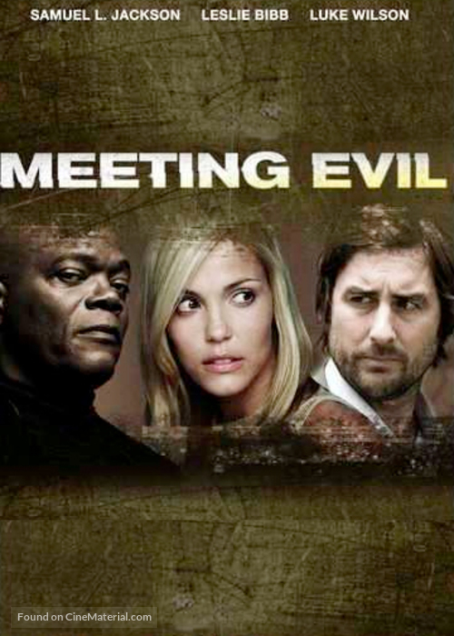 Meeting Evil - DVD movie cover