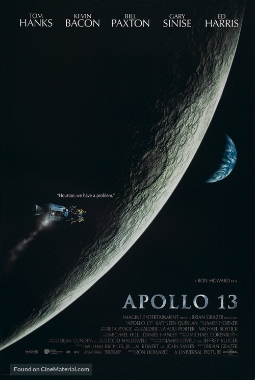 Apollo 13 - Movie Poster