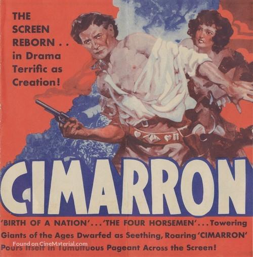 Cimarron - Movie Poster