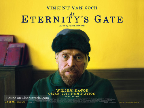 At Eternity's Gate - British Movie Poster