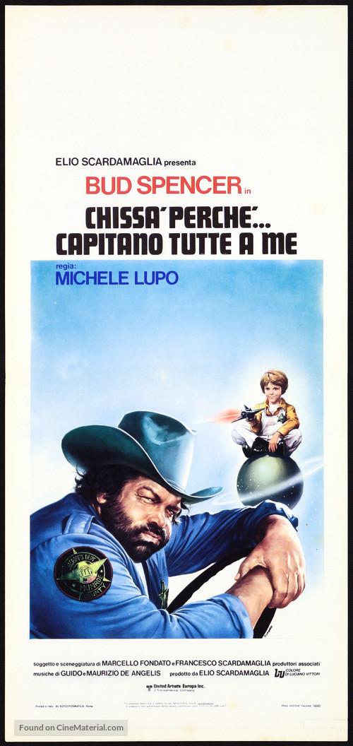 Chissà perché... capitano tutte a me - Italian Movie Poster