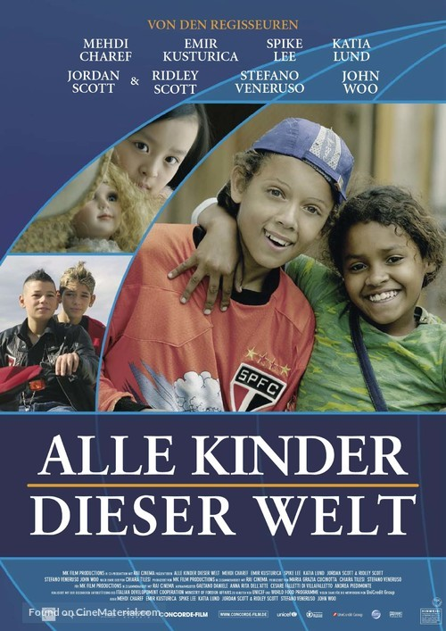 All the Invisible Children - German Movie Poster