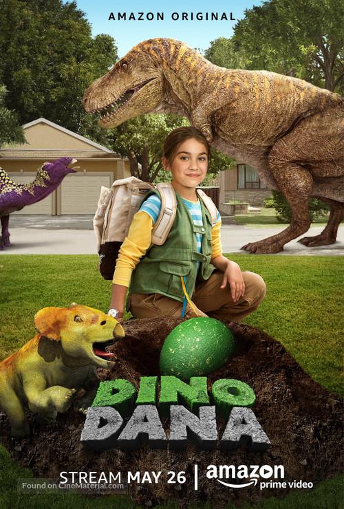 """""""Dino Dana"""" - Movie Poster"""