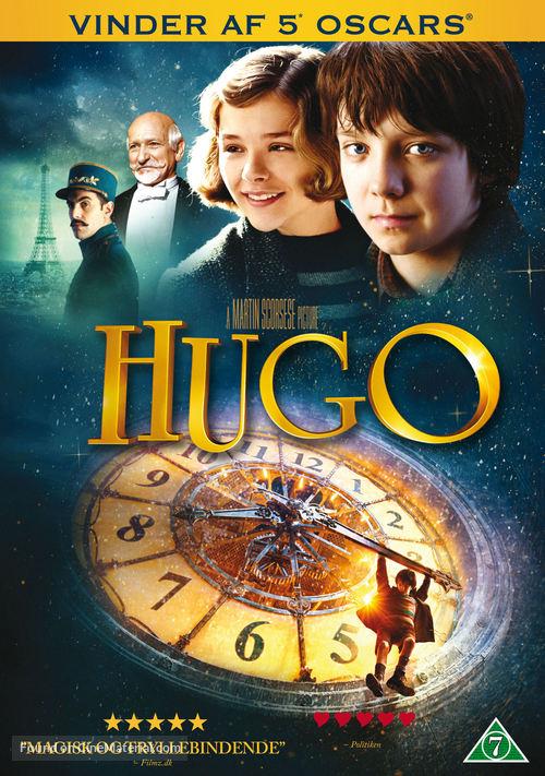 Hugo - Danish DVD movie cover